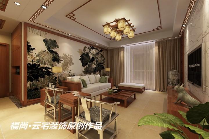 建业龙城136中式