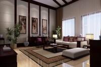 中式风格客厅12