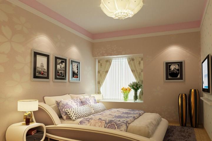 现代三室一厅效果图