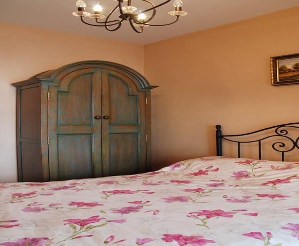 99㎡两室两厅田园风格装修效果图