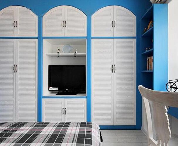 128㎡三室一厅地中海风格装修效果图