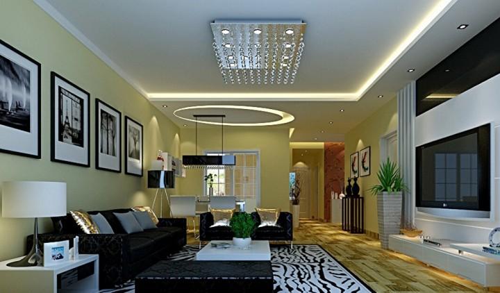 翰林苑 现代 两室一厅