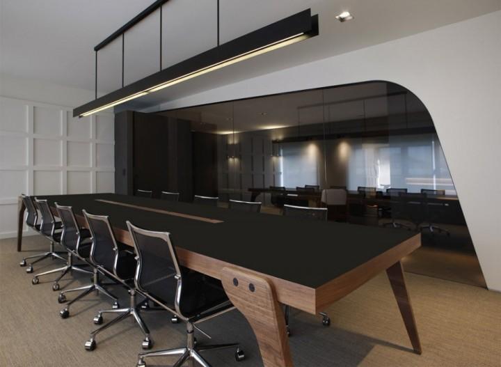 朴素优雅的办公空间案例效果图